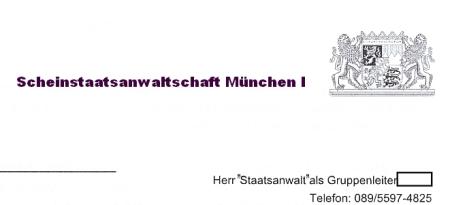 Scheinstaatanwaltschaft München