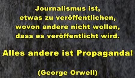 Journalismus ist...