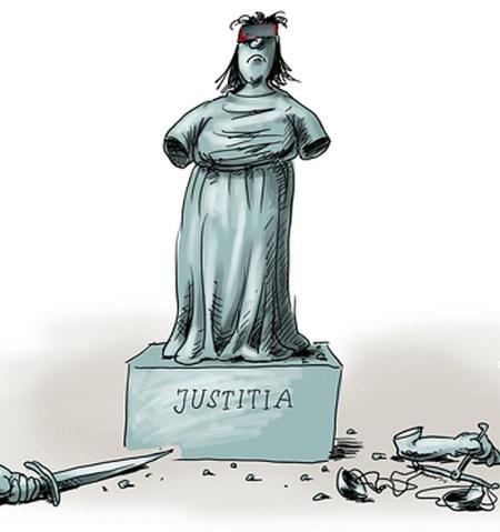 Unverschämt - Die Justizkriminellen lügen weiter -