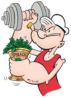 Populäre Irrtümer - Spinat enthält besonders viel Eisen.