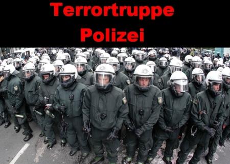 Terrortruppe Polizei
