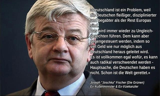 Besatzungsmächte dulden nicht länger Ausplünderung der Menschen in Deutschland.