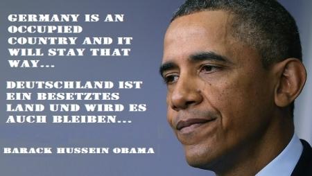 Obama in Rammstein 2009