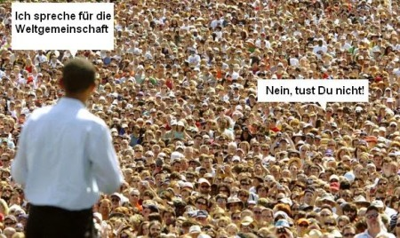 Obama Weltgemeinschaft