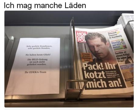 BILD-Zeitung auf absteigenden Ast....