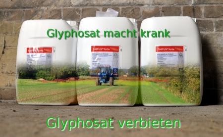 Glyphosat - Herbiszide - Pestizide - Friss den Tod und bezahl dafür..