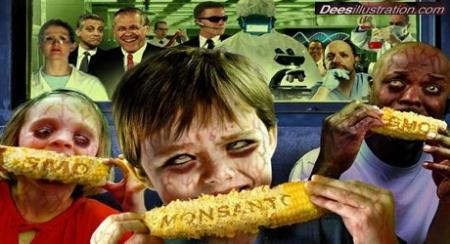 Glyphosat - Herbiszide - Pestizide - Friss den Tod und bezahl dafür