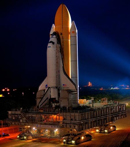 Space Shuttle-Missionen waren stets ein reines Glücksspiel
