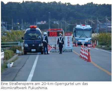 Das Reaktorunglück von Fukushima und die Folgen..