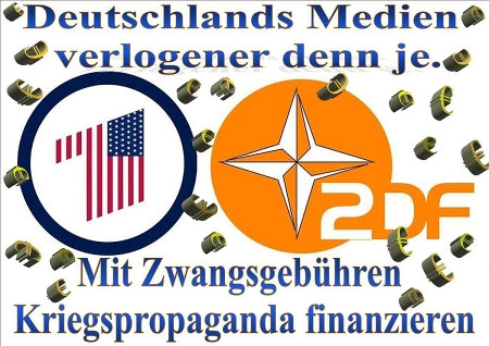 Russisches TV entlarvt deutschen Lügen-Sender ZDF (schon wieder).....