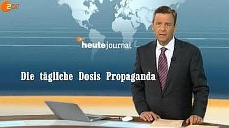 Russisches TV entlarvt deutschen Lügen-Sender ZDF (schon wieder).............