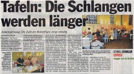 Armut in Deutschland weit verbreitet.