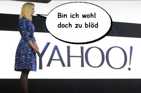 Yahoo schwer angeschlagen