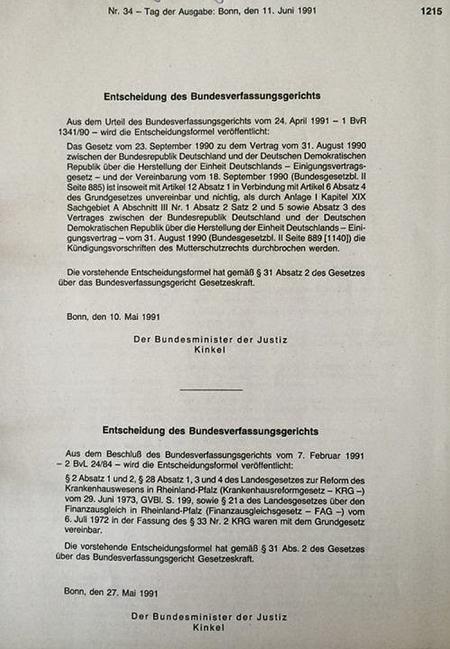 Angebliche Wiedervereinigung = Scheinhochzeit zweier Leichen (BRD und DDR)....