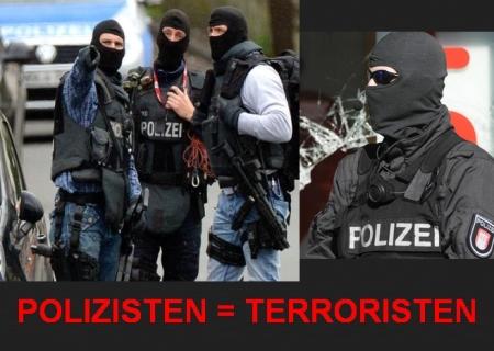 Bewaffnete Terroristen (sogenannte Polizisten) erfolgreich abgewiesen