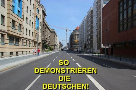 So demonstriert Deutschland