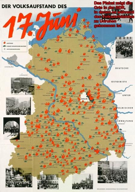 Jahrestag des Volksaufstands am 17. Juni 1953..