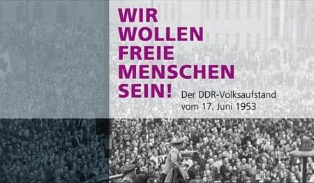 Jahrestag des Volksaufstands am 17. Juni 1953.