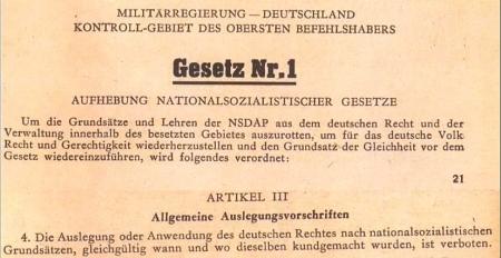 Liste der verbotenen Nazigesetzwerke....