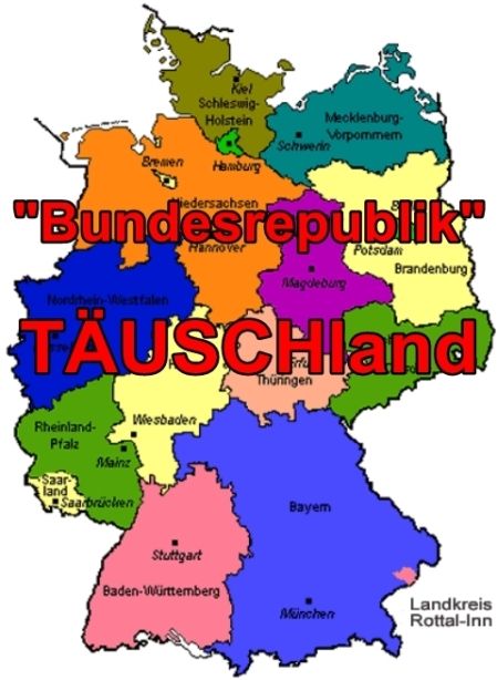 Lug, Betrug und Raub in der Bundesrepublik TÄUSCHland