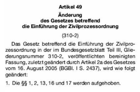Zugegeben - Gesetze der vermeintlichen Bundesrepublik Deutschland sind ungültig!..