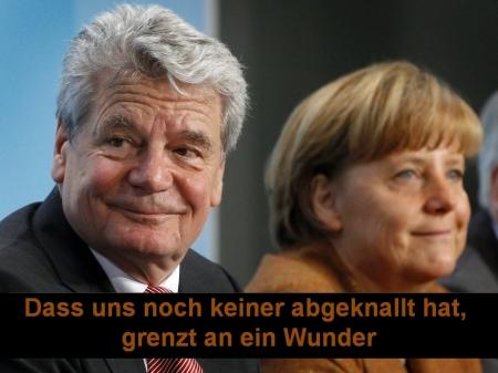 """Lug, Betrug und Raub in der """"Bundesrepublik"""" TÄUSCHland"""
