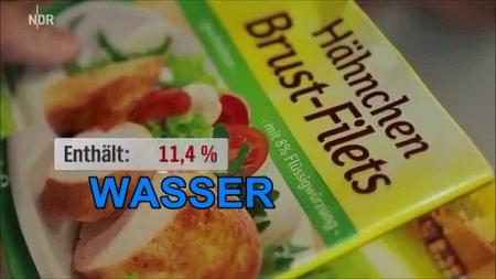 Vorsicht Lebensmittelbetrug! Teil 1: Fremdwasser im Fleisch