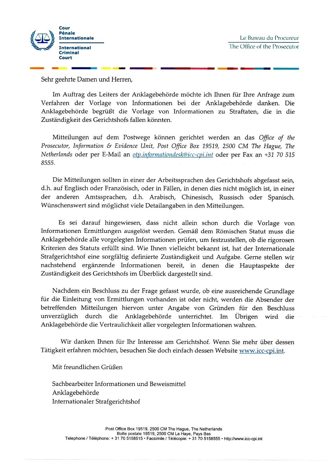 Wissenswertes über den internationalen Strafgerichtshof in Den Haag ...