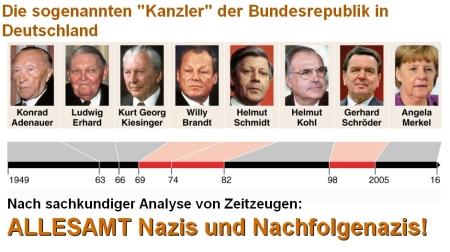 die sogenannten kanzler der brid dienten immer den alliierten niemals der deutschen