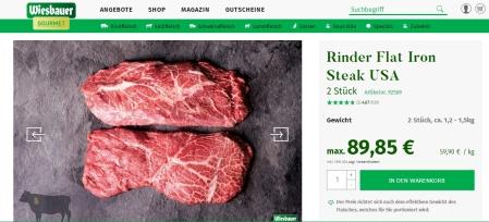 Wiesbauer - Minderwertiges Fleisch zu unverschämten Preisen